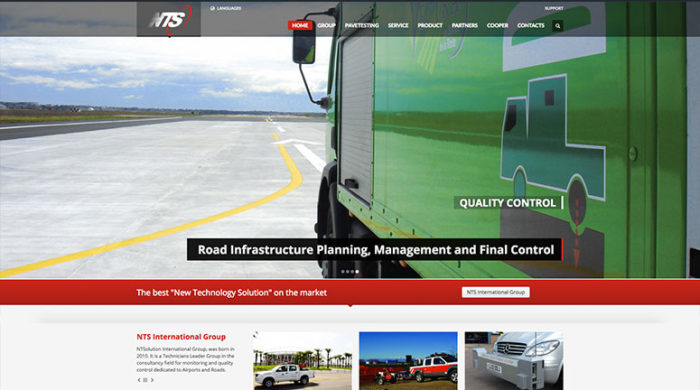 Progetto Web NTS INTERNATIONAL