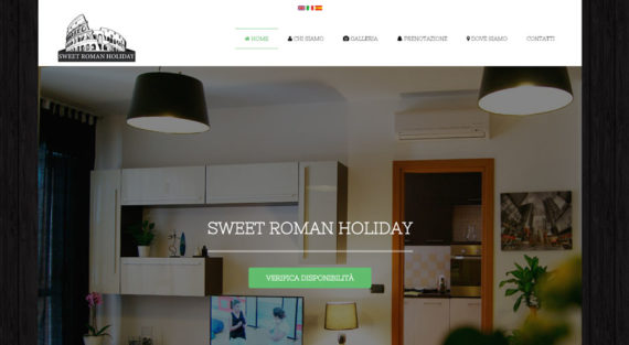 Progetto Web Sweet Roman Holiday