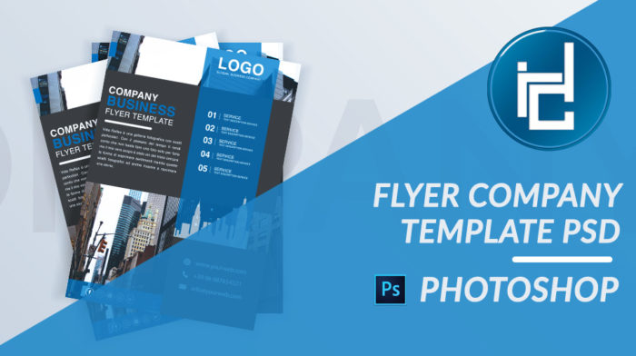 Flyer Company Business PSD