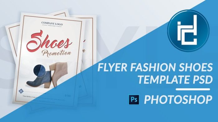 Flyer Fashion Shoes PSD