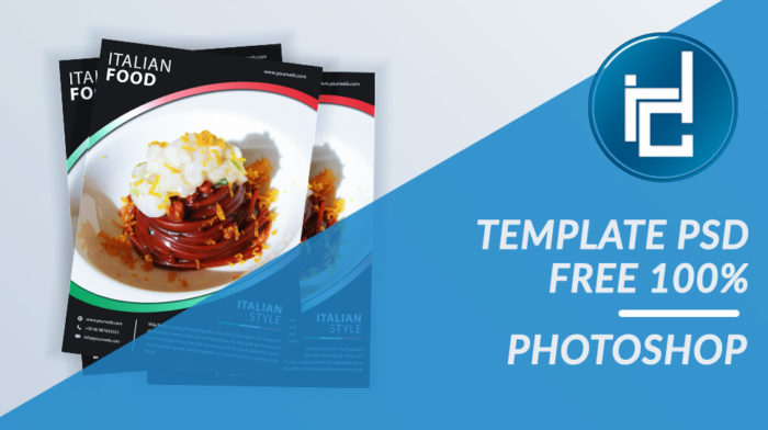 Template PSD Italian FOOD FREE