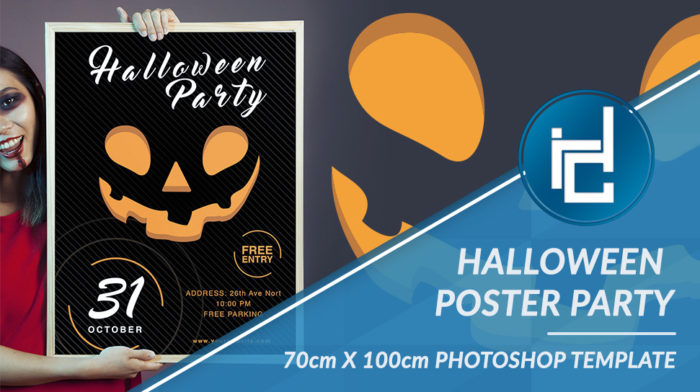 Halloween Party poster Templater
