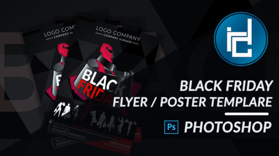 Black Friday Flyer & Poster - PSD PHOTOSHOP TEMPLATE