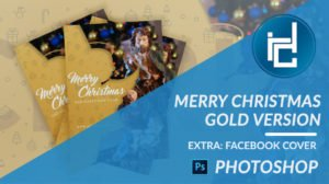 Diego Maravilla Christmas Template Gold