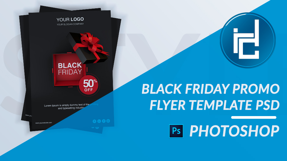Black Friday Flyer Photoshop Template